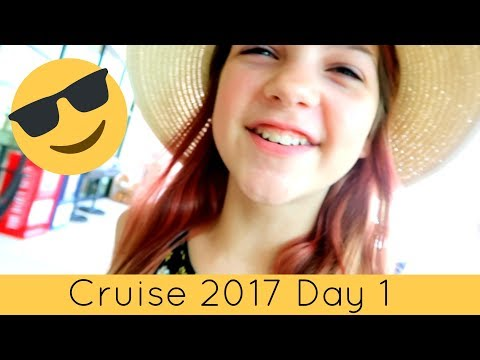Cruise Vlog Day 1 2017 | Royal Caribbean Cruise