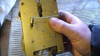Www.theclockworks.biz   Smiths Enfield Clock Repair 1