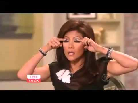 Julie Chen, Asian Eyes and Racism