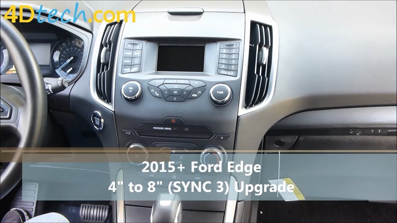 4 To 8 Upgrade W Sync 3 2017 2018 Ford Edge