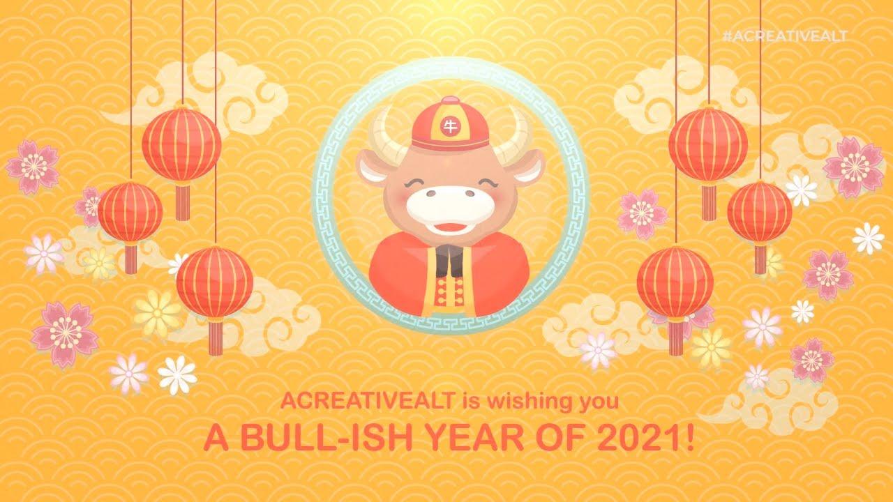 Happy Chinese New Year 2021!