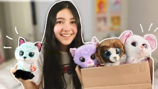 UNBOXING THE SPRING 2021 BEANIE BOOS!