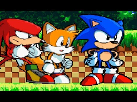 Sonic The Hedgehog 3d In 2d Sonic Fangame Youtube