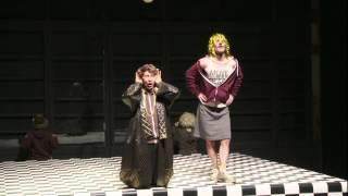 DER TEUFEL MIT DEN DREI GOLDENEN HAAREN. F.K.WAECHTER - Theater Willy Praml