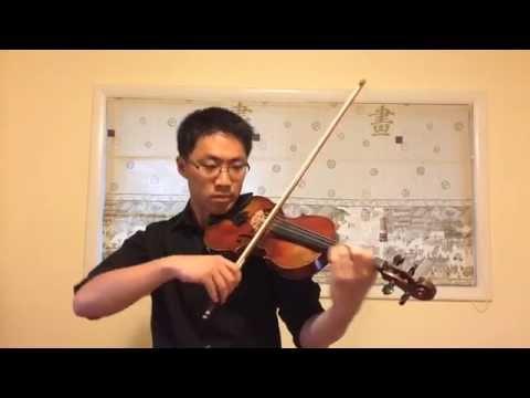 Canon Rock Violin Cover