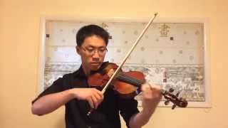 Canon Rock Violin Cover
