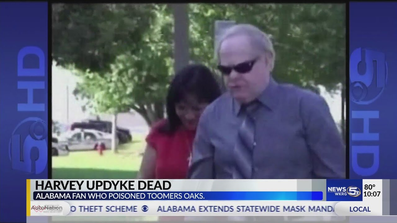 Harvey Updyke, 'Bama fan who poisoned trees at Auburn, dies