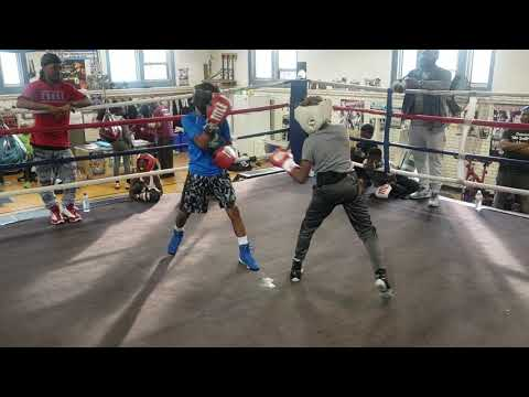 Sparring At Kingsessing Gym In Philadelphia, Pa