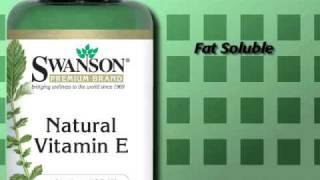 Benefits of Supplemental Vitamin E