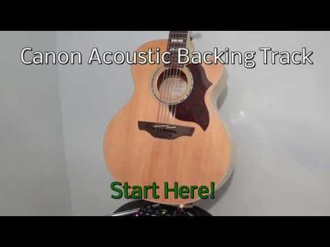 Canon Acoustic Guitar Backing Track Mp3