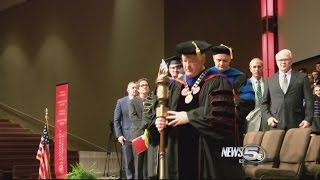 Fourth University of Mobile President Inaugurated