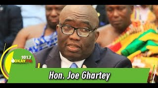 You Will Never Be President Again, Joe Ghartey Tells Mahama
