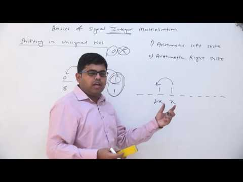 31. Arithmetic Left Shift And Right Shift Operations And Their Properties