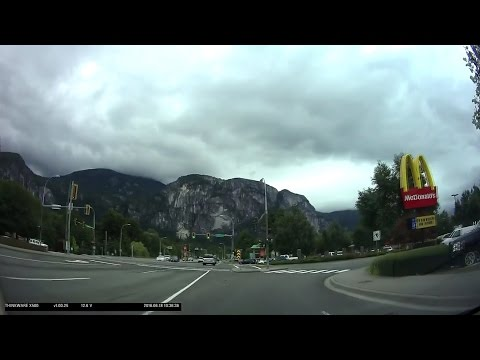 Time Lapse Drive - Kamloops to Vancouver via Duffey Lake Road and Sea to Sky Highway
