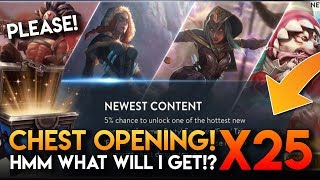 3.5 NEW CONTENT CHESTS!! Vainglory -  Chest opening [Fury Taka/Frostburn Anka/Summer Party Fortress]