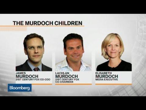 How Long Has Rupert Murdoch Been Grooming Son James?