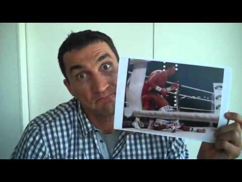 Wladimir Klitschko - sein geniales wortloses Statement zu David Haye