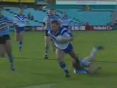 1995 Terry Lamb 50m Try running around Mat Rogers