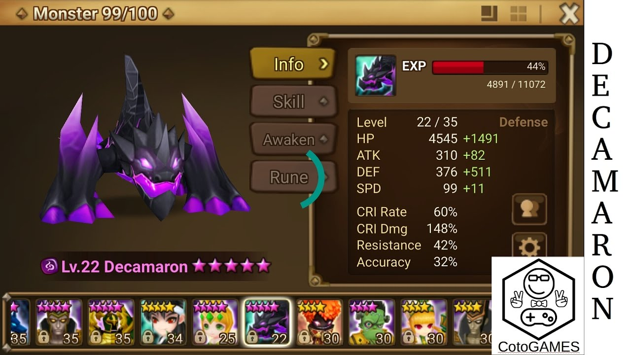 Decamaron Dark Salamander Quick Review A Must Have 2 Star Monster