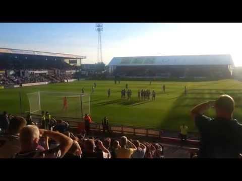 Oldham Athletic v Newcastle United - Siem de Jong's first goal!