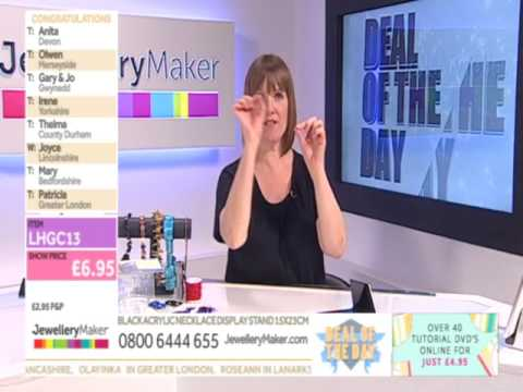 JewelleryMaker LIVE 17/05/16 4pm-9pm