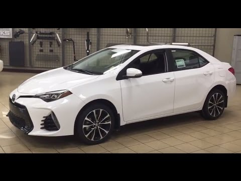 2017 toyota corolla xse tour and walkaround doovi. Black Bedroom Furniture Sets. Home Design Ideas