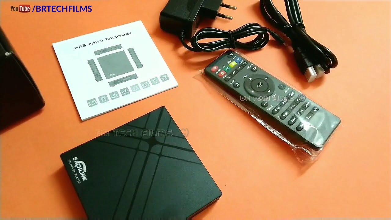 EACHLINK H6 Mini Android TV Box | BR Tech Films |
