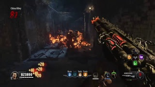 BO4 ZOMBIE GLITCHES: BLOOD OF THE DEAD GLITCH