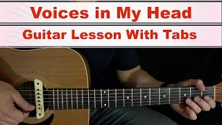 Baixar Voices in My Head - Ashley Tisdale - Guitar Lesson (Tabs in Description)