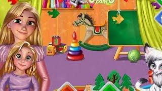 NEW Игры для детей—Disney Принцесса Уроки от Рапунцель—мультик для девочек
