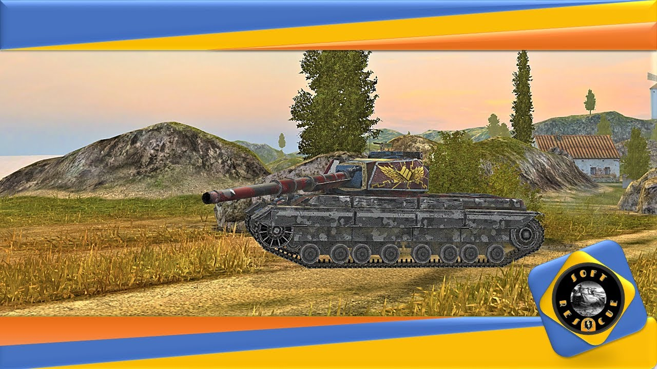 Super Conqueror ● WZ-111 5A ● Chieftain MK.6