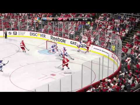 Oilers @ Red Wings NHL 15 ps4