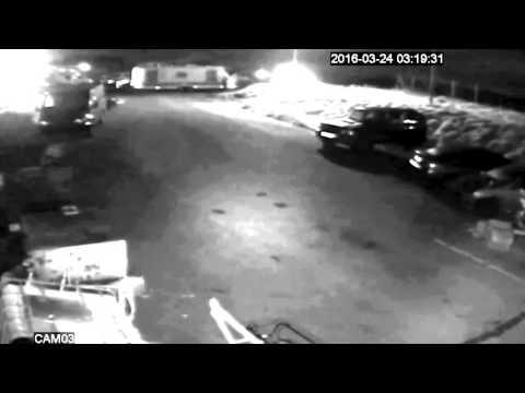 Madness CCTV. Caravan Stolen near Dunfermline, Fife in March 2016. £1000 Reward.
