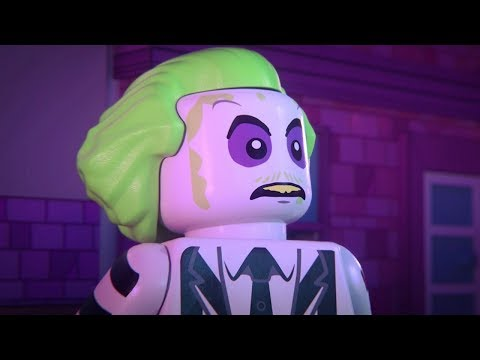 LEGO Dimensions - Beetlejuice Adventure World 100% Guide - All Collectibles