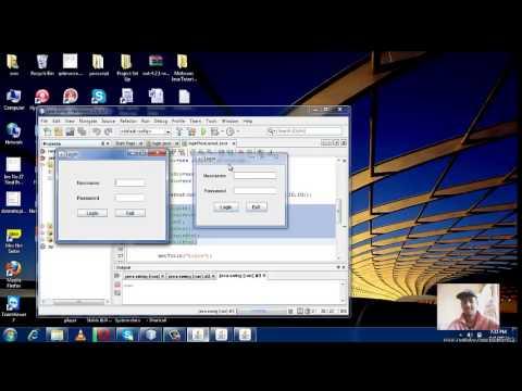 Java Swing Tutorial 4 - FlowLayout Manager