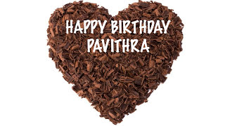 Pavithra  Chocolate - Happy Birthday
