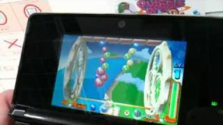 New Puzzle Bobble (Bust-a-Move Universe) Gameplay Footage for Nintendo 3DS