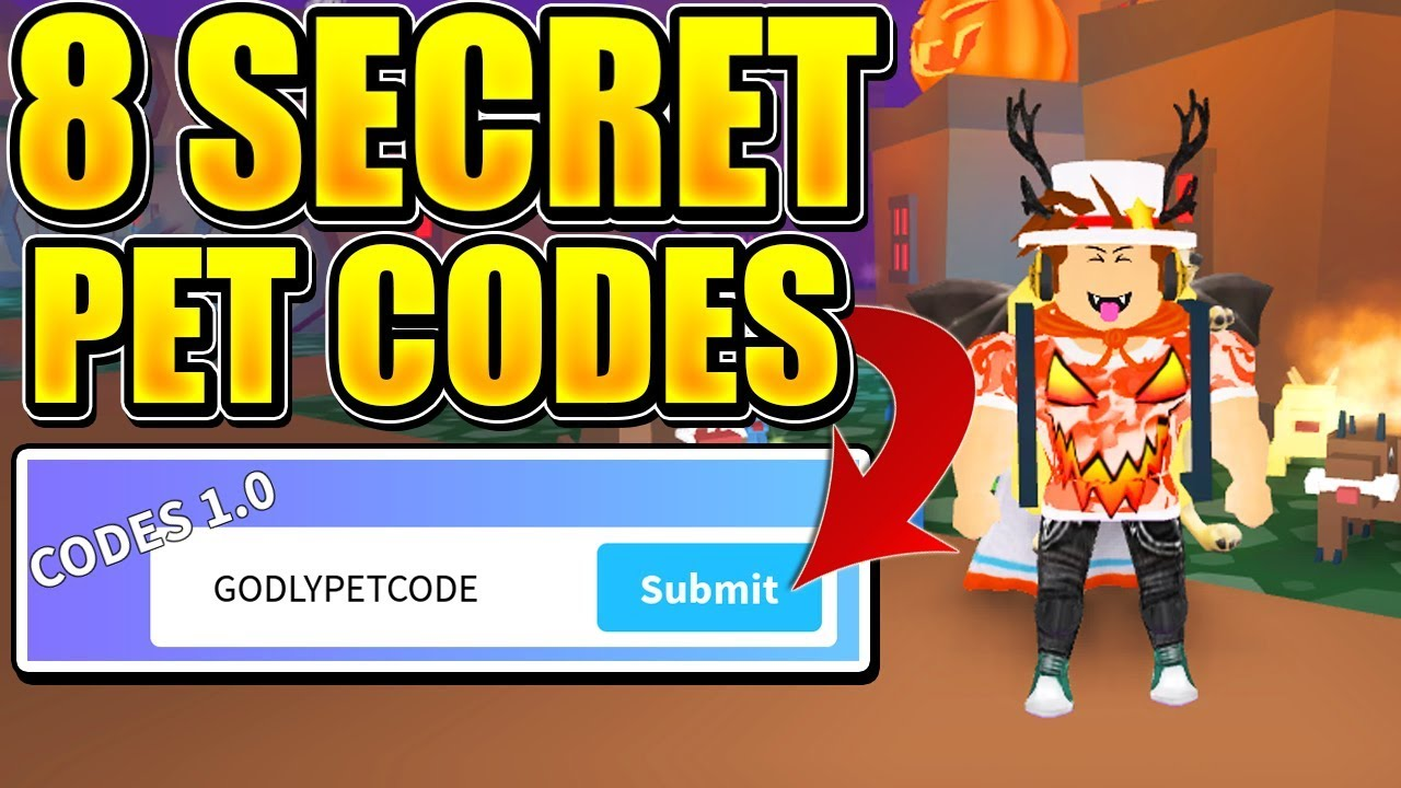codes for pet simulator roblox 2018
