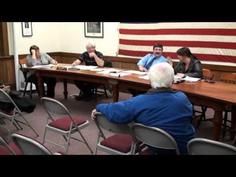 Board of Selectmen Nov. 13, 2014