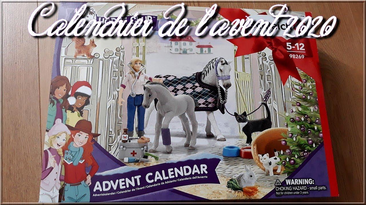 Calendrier De Lavent Schleich 2021 Revue°8| Calendrier de l'avent 2020 Schleich (horse club)   YouTube