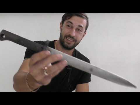 Обзор Штык ножа к чехословацкому маузеру ВЗ-24 / Chehoslovakian Bayonet VZ-24 Review