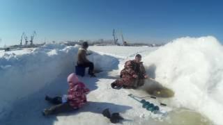 Поездка в Комсомольск за щукой с семьей 2017