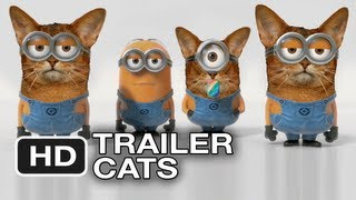 Despicable Me 2 - New Trailer Cats (2013) Official Minion Banana Movie HD