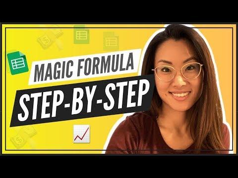 Magic Formula Investing Tutorial (SEE MY ACTUAL PORTFOLIO)