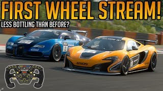 Gran Turismo Sport: First Stream on the Wheel! - [Update 1.32 & Daily Races]