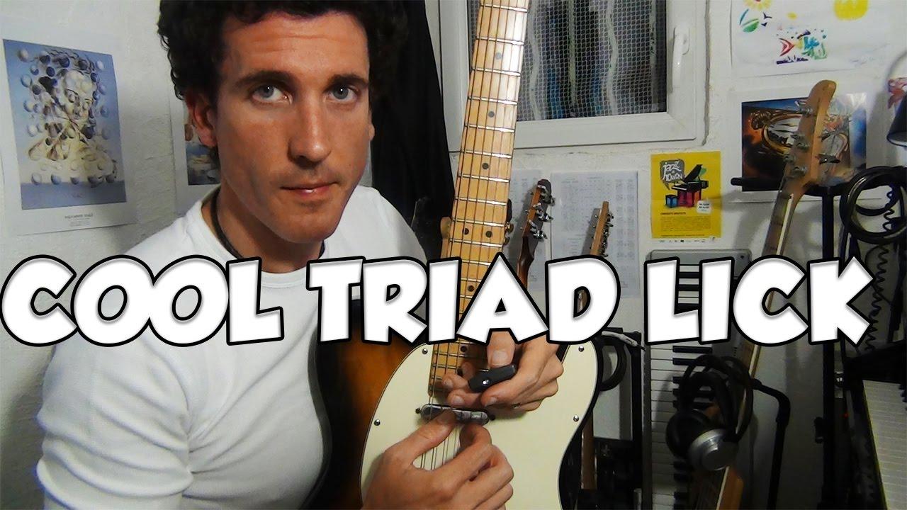 COOL TRIAD LICK - LE GUITAR VLOG 326
