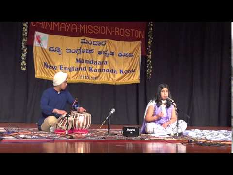 Daari Yaavudayya by Anusha at Dasa/Vachana Day, Feb 2015