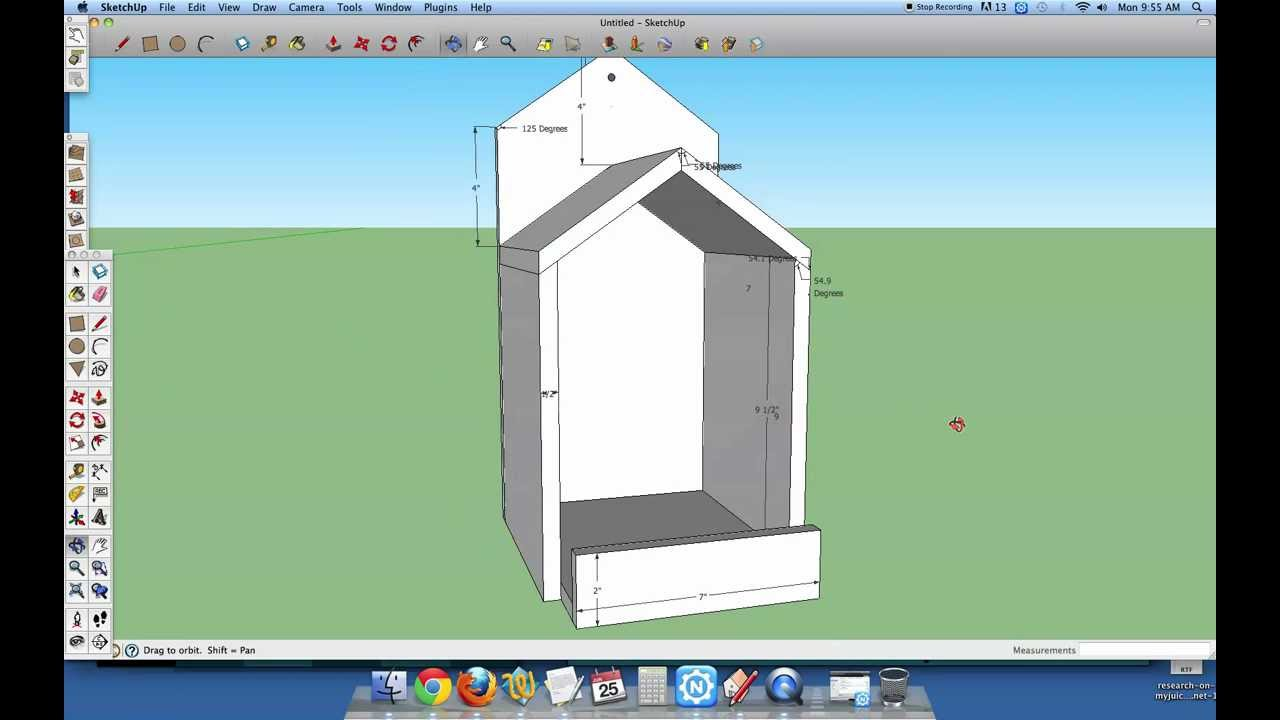 Open Box Robin Bird House Plans YouTube
