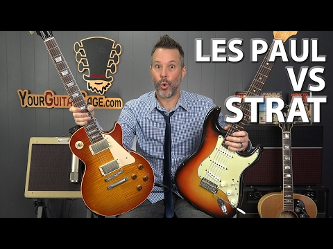 Gibson Les Paul Vs Fender Stratocaster - Which One Is Better?