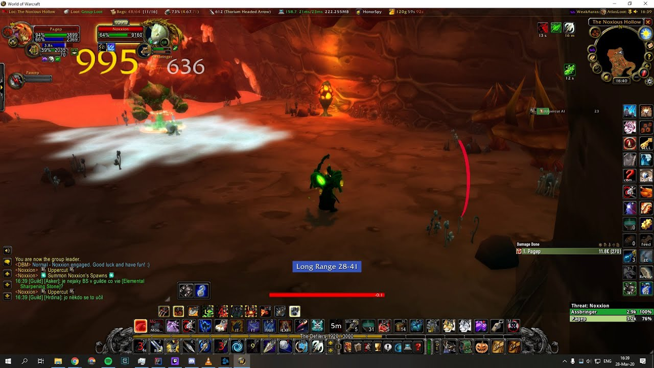 Noxxion Solo As Hunter Wow Classic Youtube